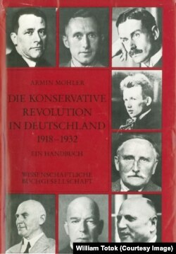 Armin Mohler: Revoluţia conservatoare (coperta)