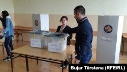 Glasanje na severu Kosovu