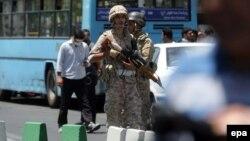 Ushtarë iranianë, ilustrim.
