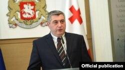 Georgia -- Minister of corrections of Georgia Kakha Kakhishvili. Tbilisi, 1Aug2015