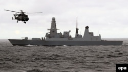 Британський есмінець HMS Duncan