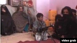 Семья Резагуль. Провинция Фарах, Афганистан.