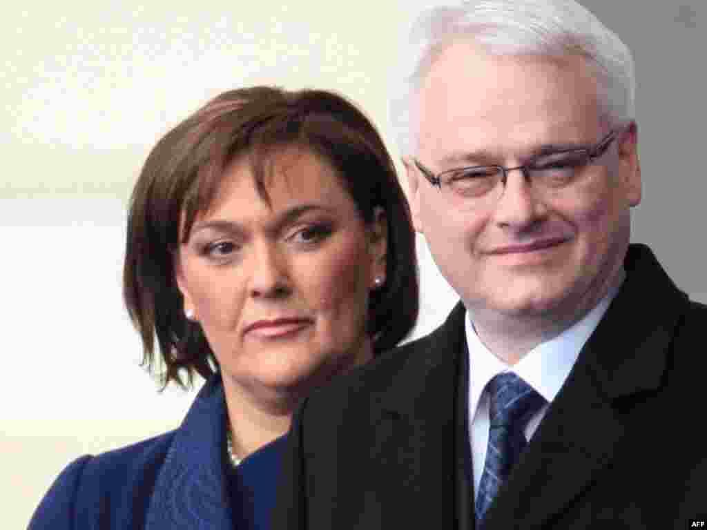 Ivo Josipović sa suprugom Tatjanom
