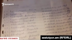 Armenia - Signed voter lists at a campaign office of the ruling Republican Party in Yerevan's Kond neighborhood, 2Apr2017.
