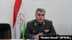Полковник Шариф Назаров, начальник полиции Согдийской области Таджикистана. Душанбе, 19 апреля 2011 года.
