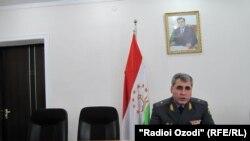 Tajikistan -- Sharif Nazarov, regional head of Tajikistan's Ministry of Interior, Dushanbe, 19Apr2011