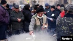Kiyevdə etiraz aksiyası