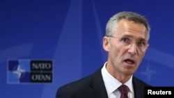 Новиот генерален секретар на НАТО Јенс Столтенберг.