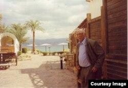Александр Пятигорский в Египте, 1999. Фото Людмилы Пятигорской