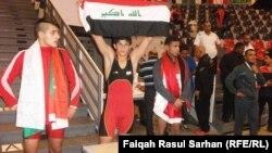العراق يفوز ببطولة غرب اسيا للمصارعة