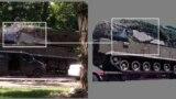 BUK-332 у Донецьку в день, коли був збитий літак