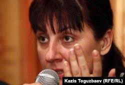 Светлана Ушакова, саясаттанушы. Алматы, 9 қараша 2012 жыл