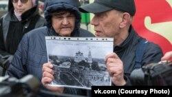 """Проект """"Пешком по Усть-Сысольску"""""""
