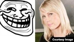 Финская журналистка Джессика Аро и символ интернет-тролля