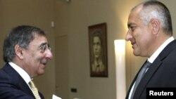 Leon Panetta la întîlnirea cu premierul Borisov