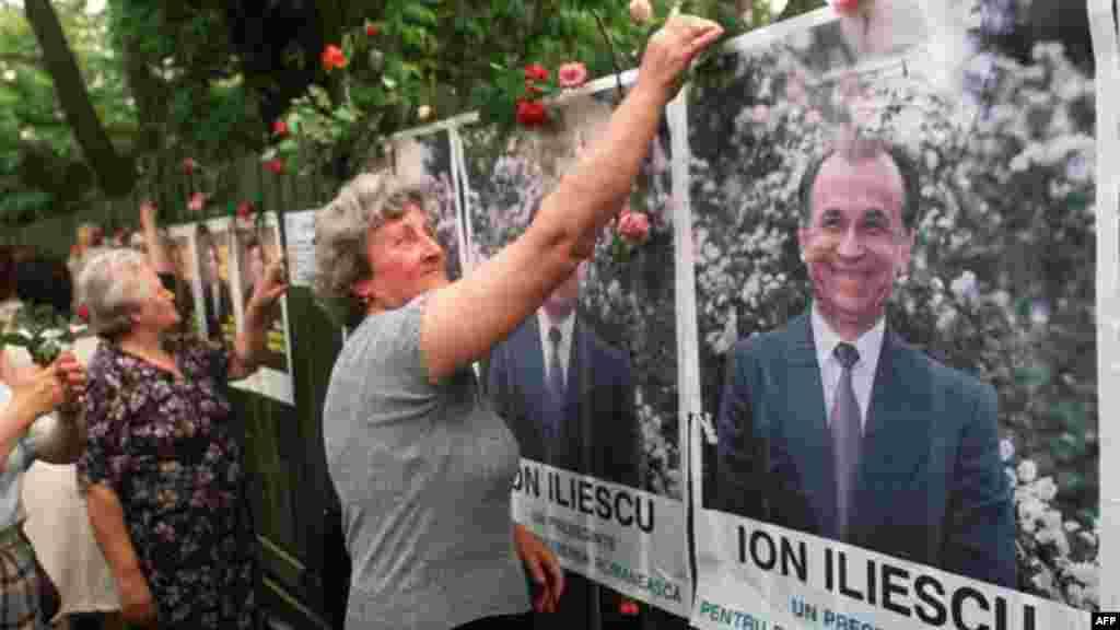Campanie electorală - 1990