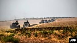 Forcat turke brenda territorit të Sirisë