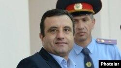 Վարդան Սեդրակյանը դատարանի դահլիճում: