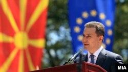 Архивска фотографија - Премиерот Никола Груевски на одбележување на Илинден во Крушево.