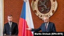 6 червня президент Чехії Мілош Земан повторно призначив прем'єром Андрея Бабіша