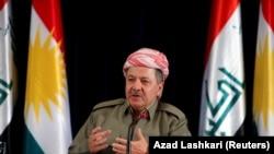 Курдистон мухторияти президенти Маъсуд Барзоний.