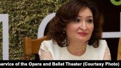 Директор КГАТОБ имени Абая Ая Калиева. Алматы, 14 июня 2019 года.