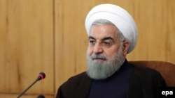 "Iranian President Hassan Rohani: ""Iran's understanding in the nuclear deal was that the accord was not concluded with one country or government but was approved by a resolution of the UN Security Council."""