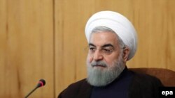Президент Исламской Республики Иран Хасан Роухани (архив)