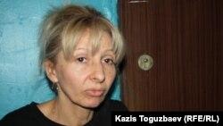 Роман Поздняковтың анасы Марина Позднякова. Алматы, 24 наурыз 2014 жыл.