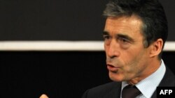 "NATO Secretary-General Anders Fogh Rasmussen: ""It will not be a run for the exit."""