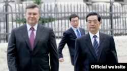 Претседателите на Кина и Украина