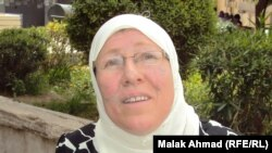 شذى عدنان طالبة ماجستير في الجامعة المستنصرية