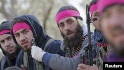 Сиријски бунтовници.