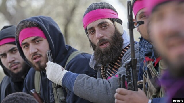 According to some estimates, there are several hundred Balkan recruits fighting on the rebel side in Syria. (file photo)