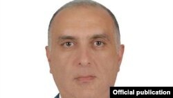 Armenia - Gagik Mkrtchian, a police officer fatally wounded during a July 17 armed attack on a police station in Yerevan.