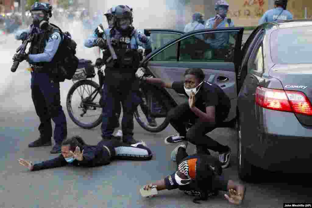 Протести во Минеаполис, 31.05.2020.