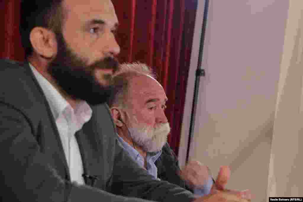 Invitaţii istoricul Mihai Ţurcanu şi jurnalistul Oleg Panfilov