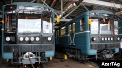 Arxiv foto: Bakı Metrosu