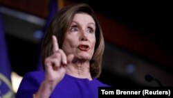 U.S. Speaker of the House Nancy Pelosi (file photo)