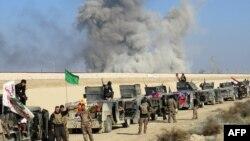 Іракські урядові сили під час операції біля Рамаді, 22 грудня 2015 року