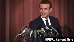 French President Emmanuel Macron (file photo)