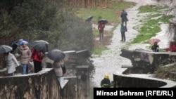 Mostar: Incident na Partizanskom groblju