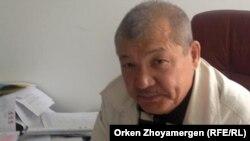 Председатель организации «Ұлт тағдыры Астана» Жанкельды Шимшиков.