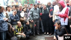 Минулого року на цьому місці турецька поліція застрелила молодого протестувальника