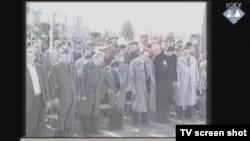 Članovi UZP-a, isječak iz prikazanog snimka