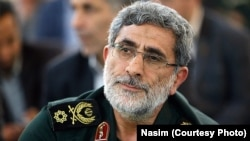 Brigadier General Esmail Qaani (Ghaani), IRGC Quds Force deputy, undated. File photo