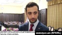 Даниэл Иоаннисян беседует с корреспондентом Радио Азатутюн, Ереван, 9 октября 2018 г.