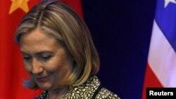 Sekretarja amerikane e shtetit Hillari Klinton