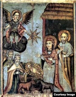 Божае нараджэньне, абраз 1746 г.