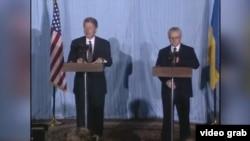 Встреча Билла Клинтона и Владимира Кравчука. 1994 год